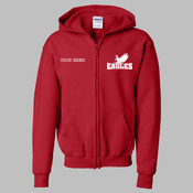 WPZIP - 18600B Youth Heavy Blend™ Full-Zip Hooded Sweatshirt