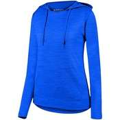 2907 Augusta Ladies Shadow Tonal Heather Hoodie